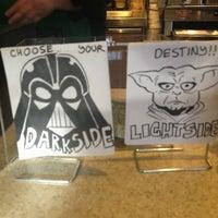 Photo taken at Starbucks by Megan W. on 3/12/2013