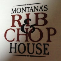 Photo taken at Montana's Rib & Chop House by Roger E. on 4/30/2013