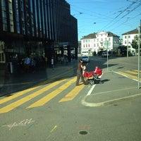 Photo taken at VBSG Busbahnhof St.Gallen by Özkan E. on 9/17/2014