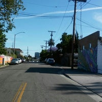Photo taken at LA Eco-Village by Sands T. on 4/21/2016
