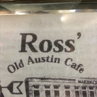 Photo taken at Ross' Cafe by Carlos d. on 1/16/2016
