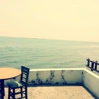 Photo taken at mavi kum restaurant by Ipek B. on 4/24/2014
