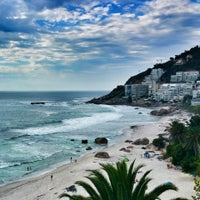 Photo taken at Clifton 2nd Beach by Sezgi D. on 2/1/2016