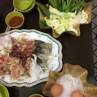 Photo taken at New Udon Thai Food (BBQ Steamboat) by Mag T. on 8/6/2017