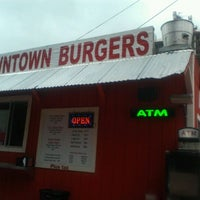 Photo taken at Down Town Burgers by Nicole T. on 9/14/2012