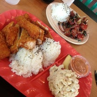 Photo taken at Mokis Hawaiian Gril by Kaizer K. on 8/15/2013