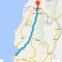 Photo taken at Currimao, Ilocos Norte by Apple J. on 4/17/2014