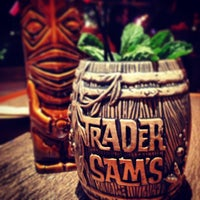 Photo taken at Trader Sam's Enchanted Tiki Bar by Marty A. on 1/13/2013