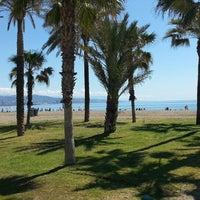 Photo taken at Playa de La Misericordia by Vicente M. on 5/1/2013