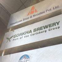 Photo taken at gorkha brewery by Tom O. on 11/8/2017