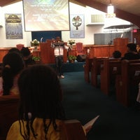 Photo taken at Rodman Street Missionary Baptist Church by Erica D. on 5/15/2013