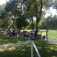 Photo taken at Pumitas C.U., Futbol A.C. by Areli R. on 10/6/2012