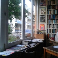 Photo taken at Goldmund Literaturcafe by Pe on 9/17/2013