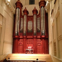 Photo taken at Edythe Bates Old Recital Hall and Grand Organ by Marc S. on 2/2/2013