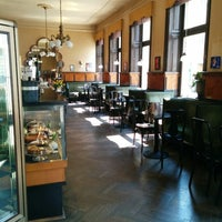 Photo taken at Cafe Goldegg by Michael G. on 5/2/2014