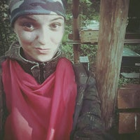 Photo taken at Bušas Paintball by Alise L. on 7/3/2015