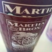 Photo taken at Martha & Bros. Coffee by Bernadette B. on 10/31/2016