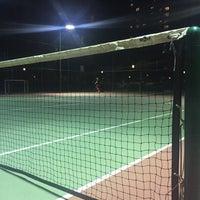 Photo taken at Soyak mavisehir tenis kortlari by deniz y. on 1/13/2016