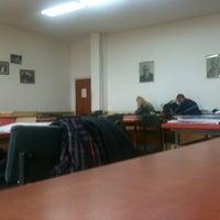 "Photo taken at Библиотека ""Браќа Миладиновци"" by Igor K. on 11/19/2012"