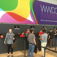 Photo taken at Moscone West by Tim M. on 6/9/2013