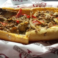 Photo taken at DP Cheesesteaks by Cindy B. on 3/17/2014