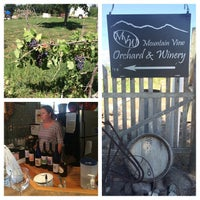 Photo taken at Mountain View Winery by Irma L. on 8/29/2014