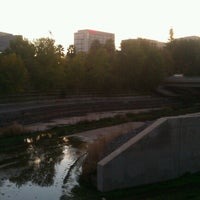 Photo taken at Guadalupe River Park & Gardens by Alex F. on 11/2/2012