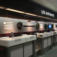 Photo taken at US Airways Ticket Counter by Jacqueline F. on 12/9/2012
