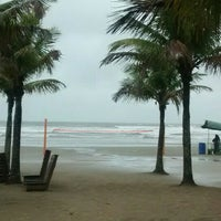 Photo taken at Praia do Sesc Bertioga by Anderson R. on 9/12/2015