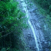 Photo taken at Mānoa Falls by Miranda L. on 10/2/2012