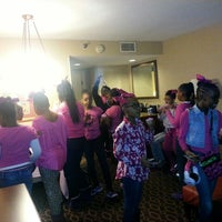 Photo taken at Embassy Suites by Hilton Atlanta Airport by Nikki A. on 11/15/2014