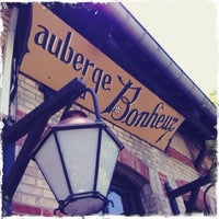 Photo taken at L'Auberge du Bonheur by Guillaume M. on 5/18/2014