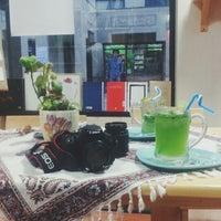 Photo taken at Aftab Café | کافه کتاب آفتاب by Samaneh S. on 8/13/2014