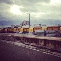 Photo taken at Stazione di Ostuni by Marco Goran R. on 12/28/2012