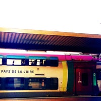 Photo taken at Gare SNCF de Saumur by Ridha D. on 11/26/2012