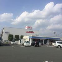 Photo taken at ローソン 熊本菊陽町津久礼店 by Yasuko O. on 4/9/2018