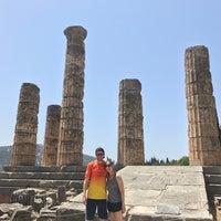 Photo taken at Temple of Apollo by Emily Z. on 6/29/2017