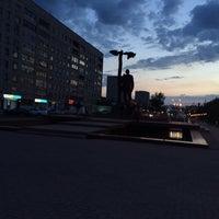 Photo taken at Площадь Конституции by Nastya L. on 5/8/2014