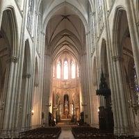 Photo taken at Basilique Sainte-Clotilde by Daria K. on 8/12/2017