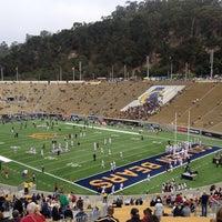 Photo taken at California Memorial Stadium by Chris S. on 10/20/2012