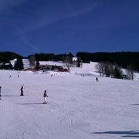 Photo taken at Rokytnice Nad Jizerou - Horní Domky by Jana C. on 3/2/2013