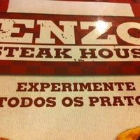 Photo taken at Enzo SteakHouse by Ricardo M. on 10/3/2012