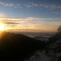 Photo taken at Sypes Canyon Trail Head by Scott Y. on 1/21/2013