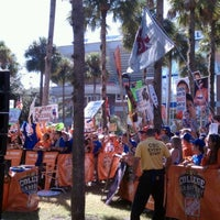 Photo taken at ESPN College GameDay by Becca A. on 10/20/2012