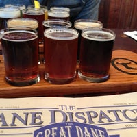 Photo taken at Great Dane Pub & Brewing Company by Lauran B. on 3/9/2013