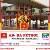Photo taken at Vasfi Akkir Petrol by Bahadir A. on 11/5/2014