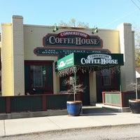 Photo taken at Cornerstone Coffee House by Bob B. on 4/23/2014