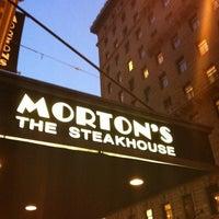 Photo taken at Morton's the Steakhouse by EunKyu P. on 9/30/2012