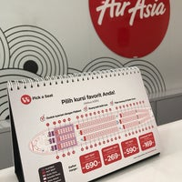 Photo taken at Air asia office by Lia R. on 4/17/2017