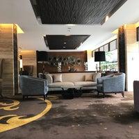 Photo taken at Executive Lounge Royal Ambarrukmo by Lia R. on 1/29/2017